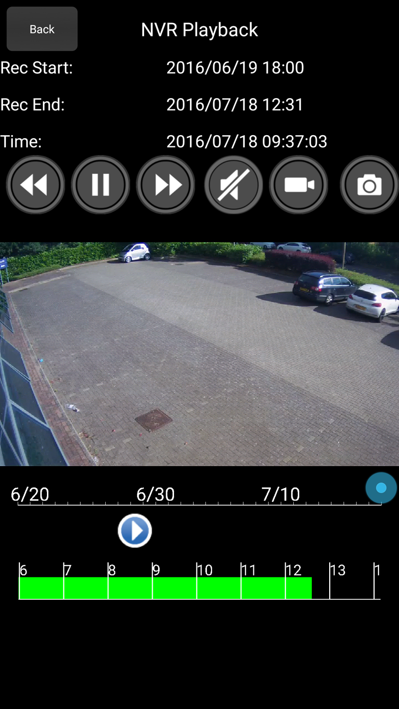 Playback from a LILIN NVR using the LILIN Viewer mobile app – LILIN
